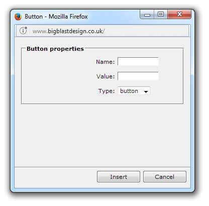Add a form button