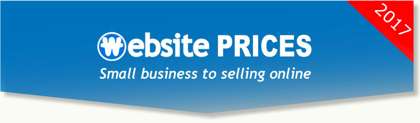Website design prices for small business